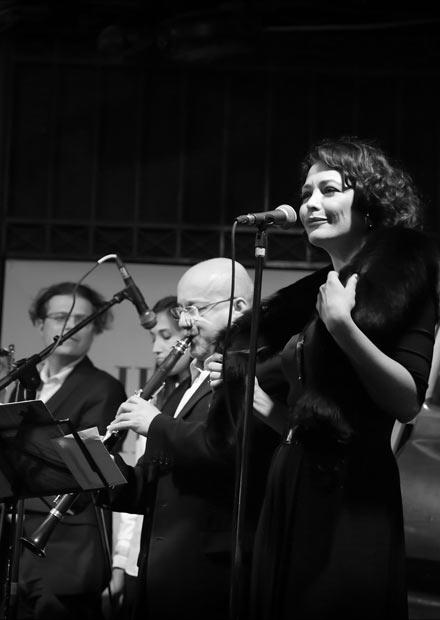 Екатерина Волкова и джаз-бэнд