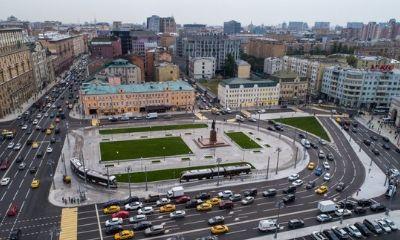 """Площадь """"Тверская Застава"""""""