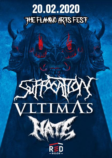 Suffocation / Vltimas / Hate