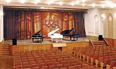 Зал Музыкальной школы им. А. Скрябина (Дзержинск)