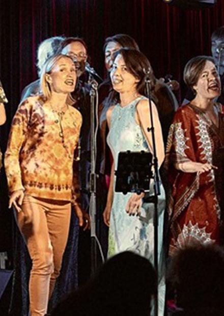 Школа-студия Sunny Side Singers. George Harrison & Friends