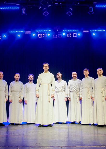 Мужской хор Свято-Данилова монастыря
