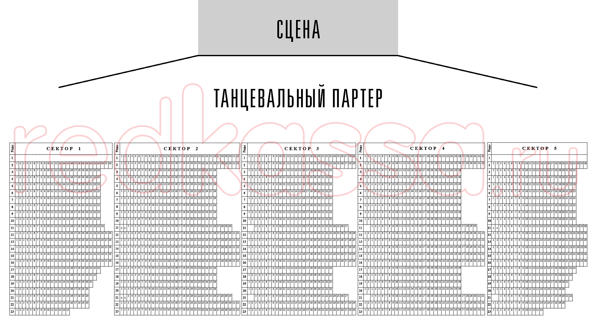 """Схема зала Тольятти. Дворец спорта """"Волгарь"""""""
