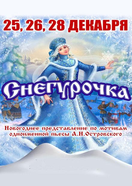 Новогоднее представление «Снегурочка»