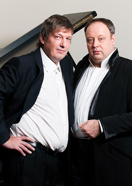 Фортепианный дуэт. Б. Березовский и А. Гиндин
