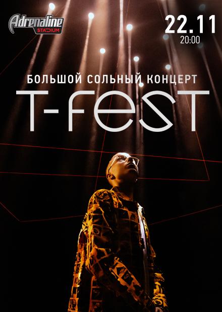 T-Fest. Большой сольный концерт