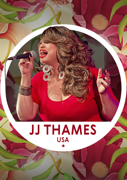Город Джаз. JJ Thames (USA). Blues
