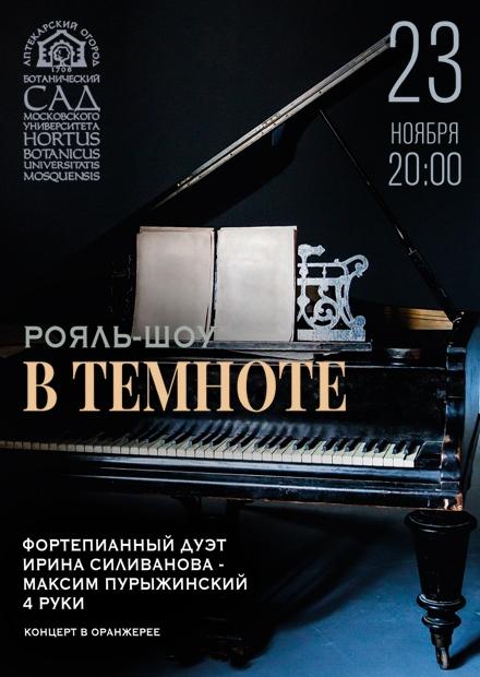 """Рояль-шоу """"В темноте"""""""