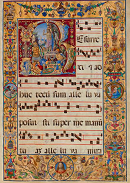 Пасхальная песнь. Трио Восток-Запад: орган, дудук, голос