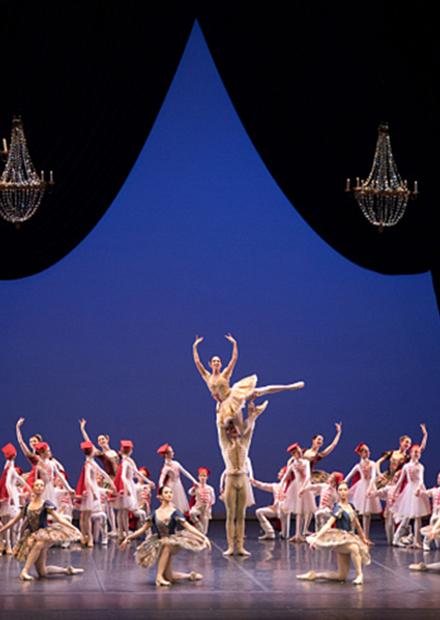 Гала-концерт балетной труппы театра