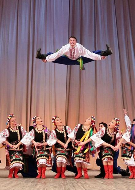 """Балет Игоря Моисеева. """"Танцы народов мира"""""""
