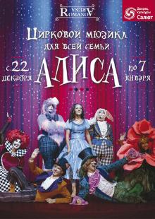 """Цирковой мюзикл для всей семьи """"Алиса"""""""