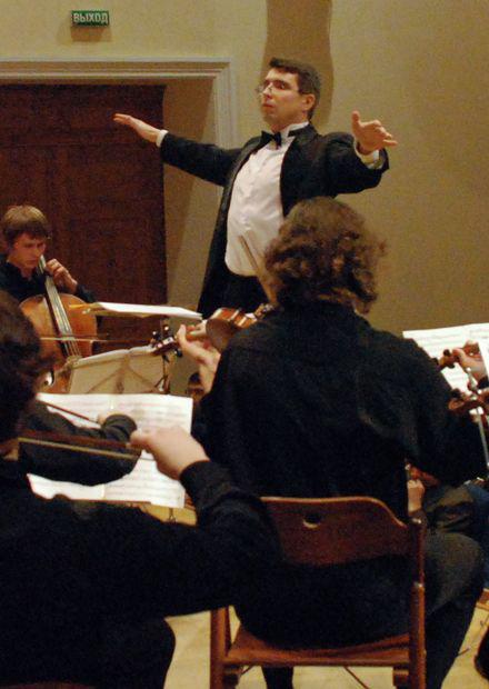 Шаг на сцену с камерным оркестром «Cantilena». Весна