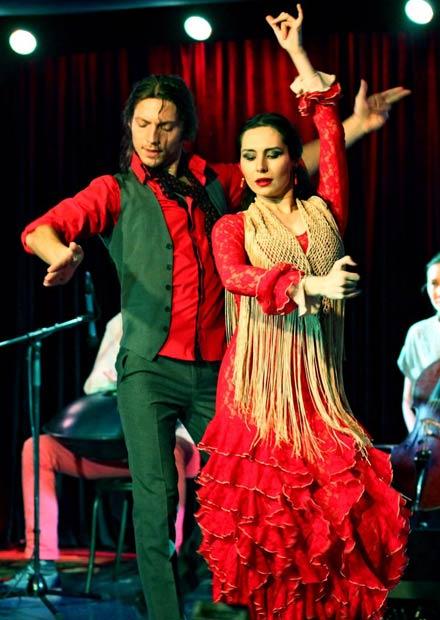 Фламенко-шоу. Таблао