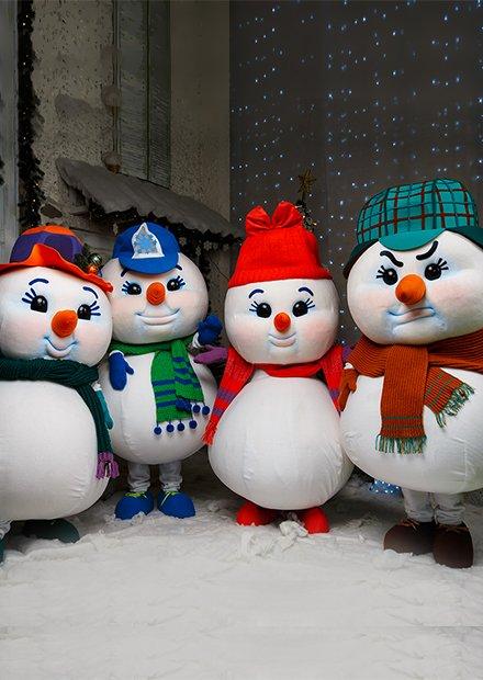 "Новогоднее шоу ""Снеговики"""