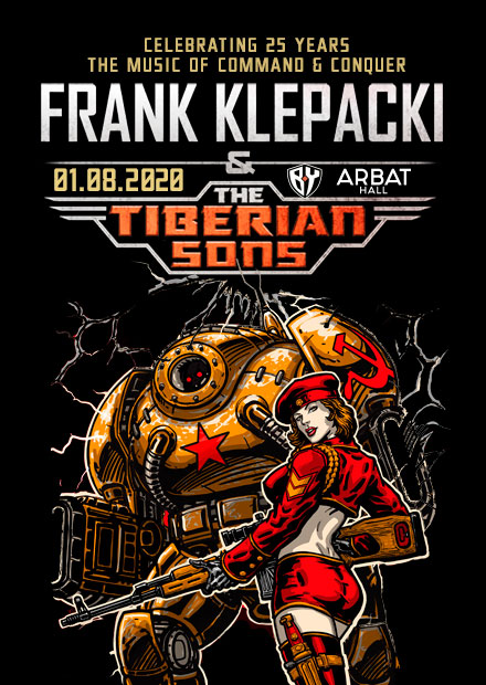 Frank Klepacki plays C&C Red Alert OST