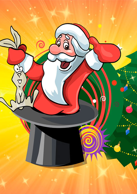 Магия Деда Мороза. Шоу фокусов