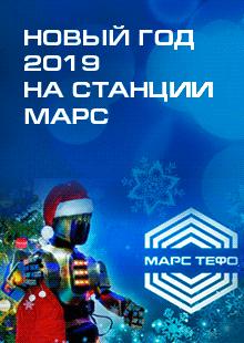 Новый год 2019 на станции МАРС