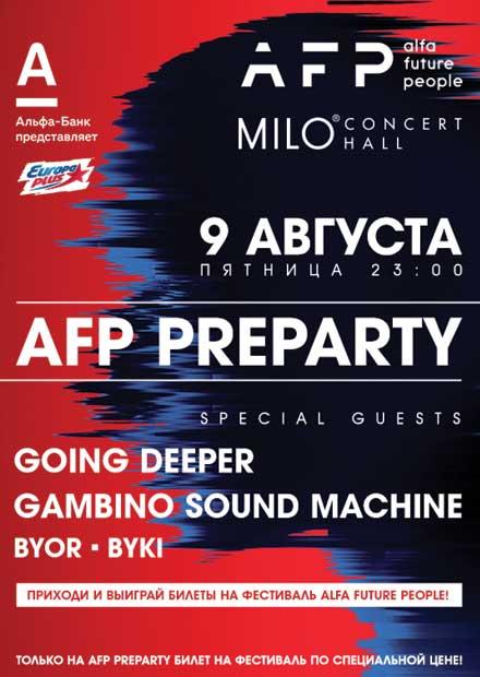 AFP Pre-party