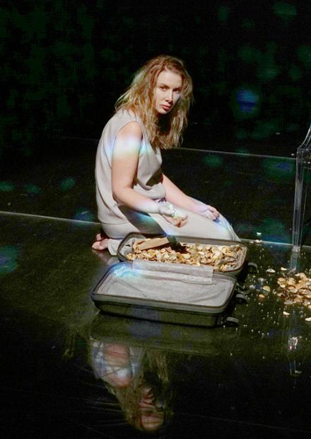 Офелия боится воды