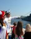 Посвящение в москвичи на воде