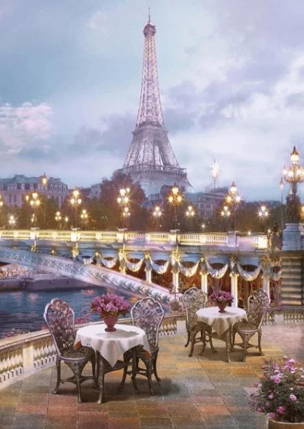 Романтический вечер в Париже. Концерт для органа, оркестра и песочной анимации