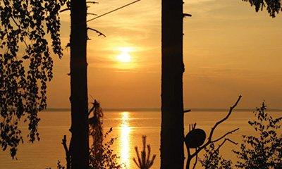 Серфлагерь (побережье Горьковского моря)