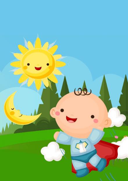 Сказка для самых маленьких «Путешествие солнышка»