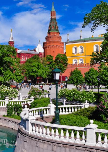 Комплексная экскурсия по центру Москвы