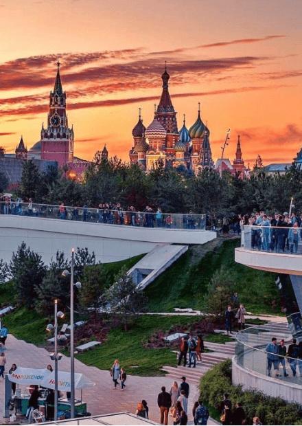 """Экскурсионная прогулка в парк """"Зарядье"""""""