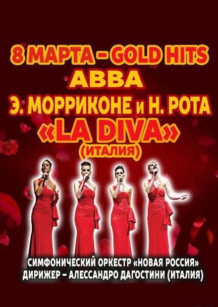 La Diva (Италия). Gold Hits: Abba, Э. Морриконе, Н. Рота
