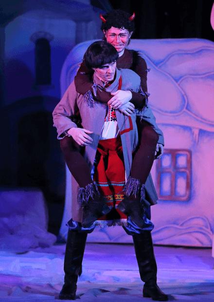 """Ночь перед Рождеством. Камерный театр """"Эль-Арт"""""""