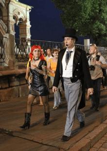 Москва - территория призраков