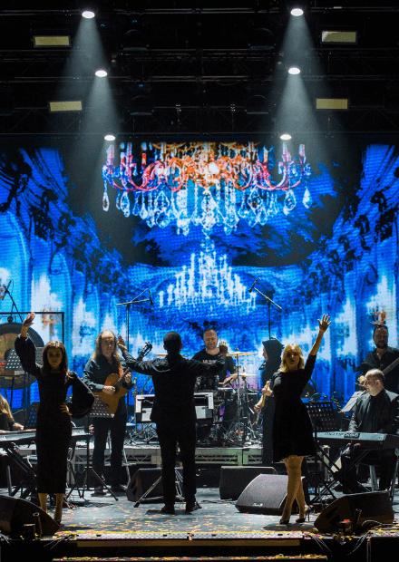 Игра в мюзикл. Stage-orchestra