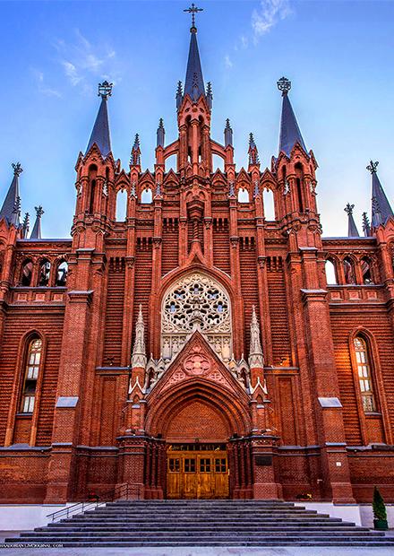 Пасхальный перезвон. Большой соборный орган и колокола