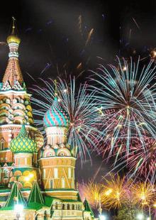 Огни новогодней столицы