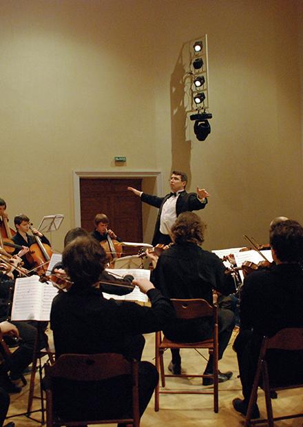 Шаг на сцену с камерным оркестром «Cantilena»
