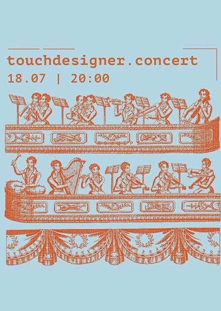 Touchdesigner. Concert