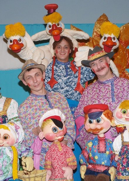 Гуси-лебеди. Татарский театр кукол (Казань)