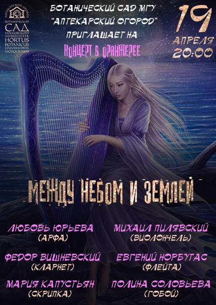 The Sounds of the Harp. Арфа. Между небом и землей