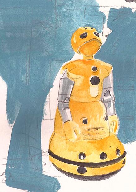 Шесть роботов в поисках автора. Завен Паре