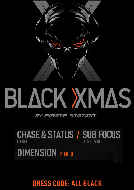Black Xmas by Pirate Station