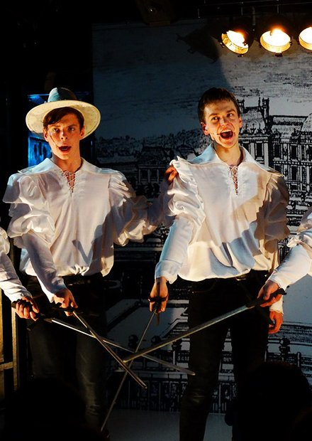 "Три мушкетера. Театр ""А - Я"""