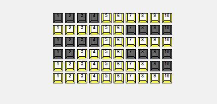 Схема зала Москонцерт Арт-салон