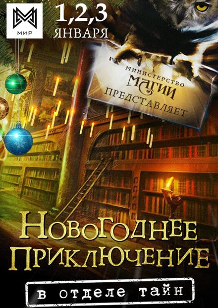 Новогоднее приключение в Отделе тайн