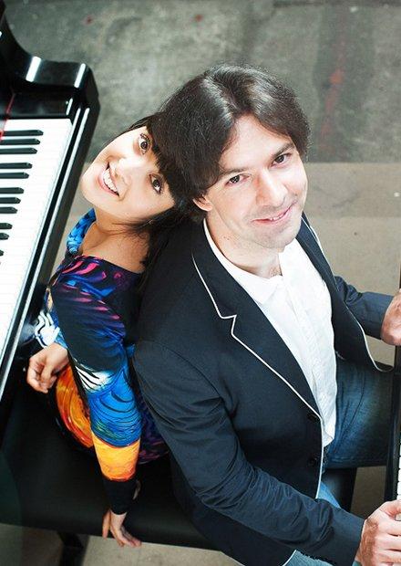 Мария Масычева и Георгий Громов