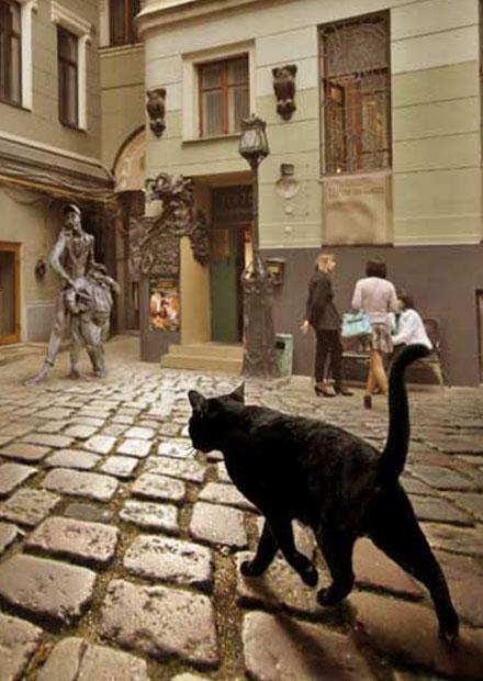 Квест «Новые похождения Кота Бегемота»