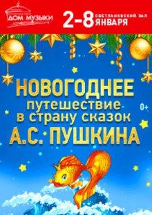 Талон на подарок. Новогоднее путешествие в страну сказок А.С. Пушкина