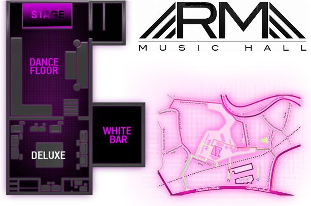 "Схема зала Клуб ""Arma Music Hall"""