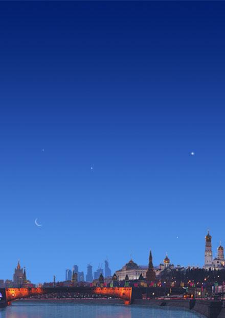 Вечные мелодии любви. Белые ночи Москвы